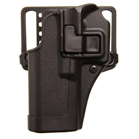 Blackhawk 410568BKL Serpa CQC Concealment Matte Glock 43 Polymer Black