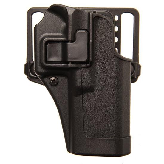 Blackhawk 410568BKR Serpa CQC Concealment Glock 43 Polymer Black
