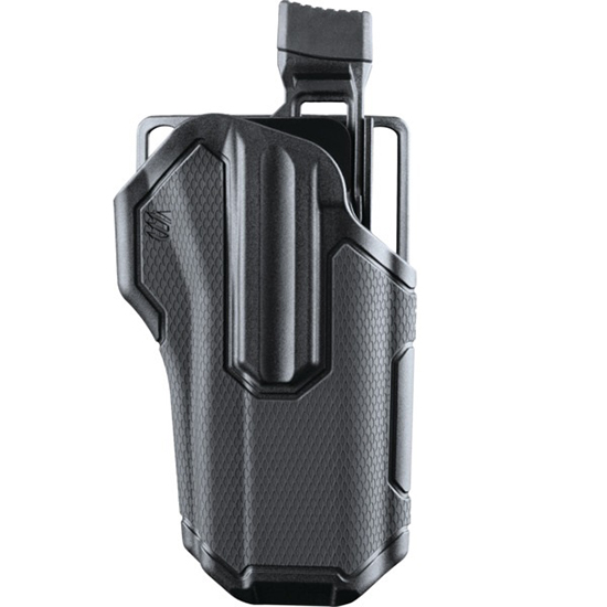 Blackhawk 419000BBR Omnivore Multifit  Most Standard Autos No Light Plastic Black
