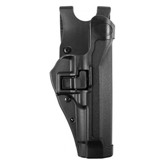 BlackHawk LE Duty Gear Level 2 SERPA Duty Holster, Right Hand, Beretta 92/96, Black