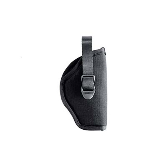 Blackhawk 73NH01BKR Hip Holster 3-4 Barrel Medium Auto 1000 Denier Cordura Nylon Black in.