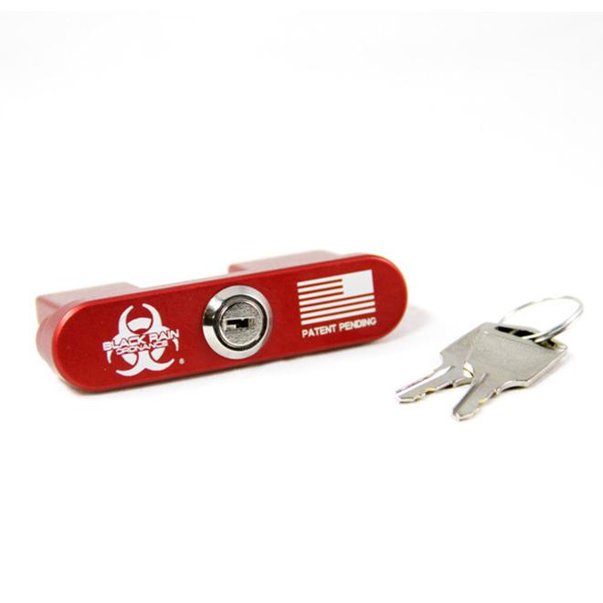 Black Rain BROLOCK AR15 Safety Lock Aluminum Red .223|5.56