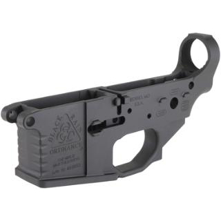 Black Rain BROMLRBLK BRO Milled Lower AR-15 223 Remington|5.56 NATO Black Hardcoat Anodized