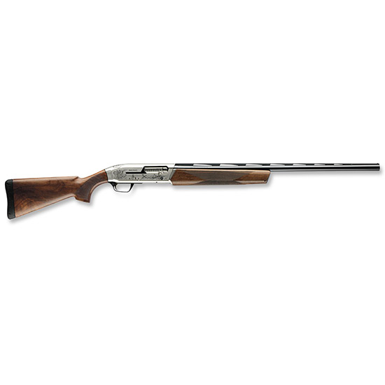 Browning 011640303 Maxus Ultimate Semi-Automatic 12 Gauge 30 3 in.  Turkish Walnut Stk Nickeled Aluminum Alloy w|Engraving in.