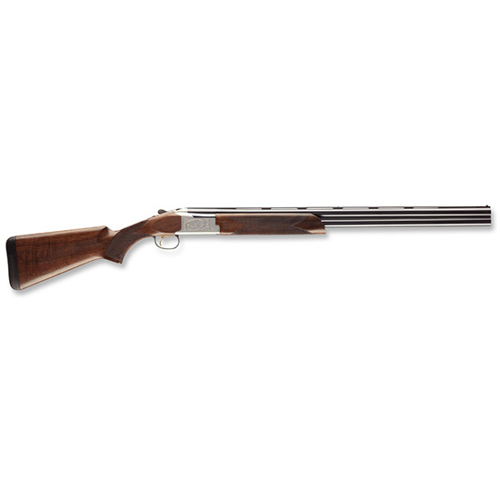 Browning 0135663004 Citori 725 Feather Over|Under 12 Gauge 28 3 in.  Black Walnut Stk Silver Nitride Aluminum Alloy w|Engraving in.