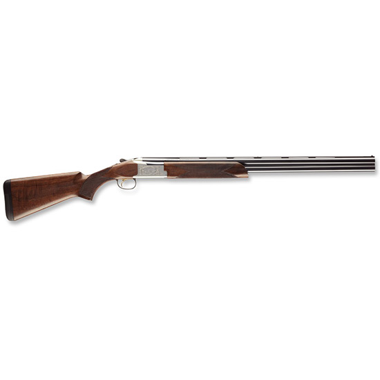 Browning 0135663005 Citori 725 Feather Over|Under 12 Gauge 26 3 in.  Black Walnut Stk Silver Nitride Aluminum Alloy w|Engraving in.