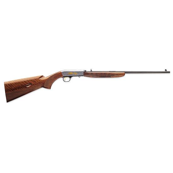 Browning 021003102 Semi-Auto 22 Grade VI Semi-Automatic 22 Long Rifle (LR) 19.3 10+1 Walnut Stk Gray in.
