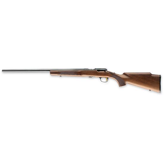 Browning 025185270 T-Bolt Target|Varmint Bolt 17 Hornady Magnum Rimfire (HMR) 22 10+1 Walnut Stock Blued in.