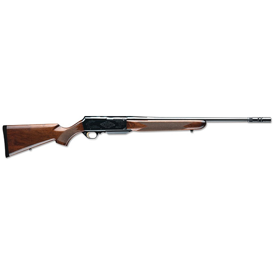 Browning 031001223 BAR Safari Semi-Automatic 25-06 Remington 24 4+1 Turkish Walnut Stock Blued in.
