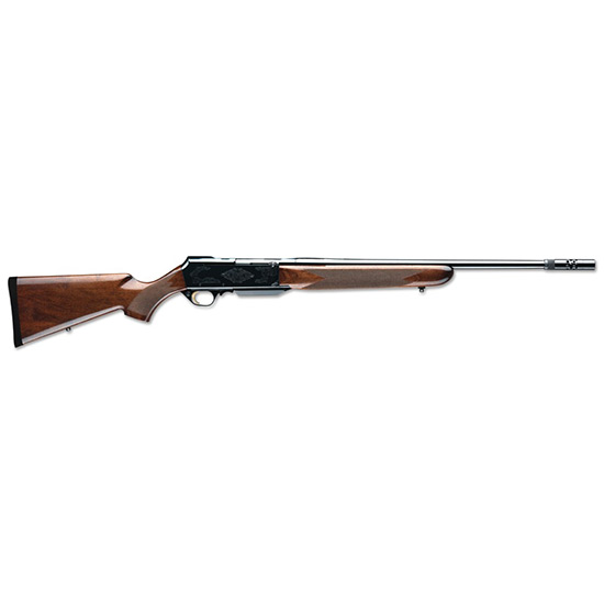 Browning 031001229 BAR Safari Semi-Automatic 300 Winchester Magnum 24 4+1 Turkish Walnut Stk Blued in.