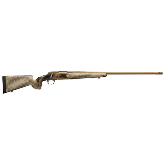 Browning 035395282 X-Bolt Hells Canyon Speed Long Range Bolt 6.5 Creedmoor 26 3+1 McMillan Game Scout A-TACS AU Stk Burnt Bronze Cerakote in.