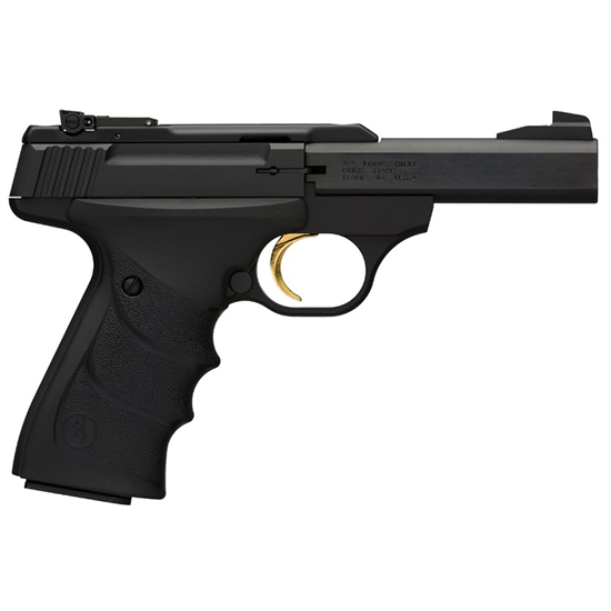 Browning 051408490 Buck Mark Standard Micro *CA Compliant* 22 Long Rifle (LR) Single 4 10+1 Black Ultragrip RX Grip Black Aluminum Alloy Frame Slide in.