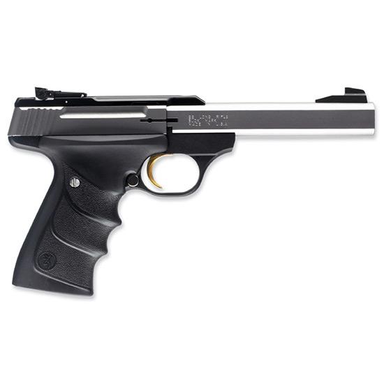 Browning 051409490 Buck Mark Standard *CA Compliant* 22 Long Rifle (LR) Single 5.5 10+1 Black Ultragrip RX Grip Black Aluminum Alloy Frame Stainless Steel Slide in.