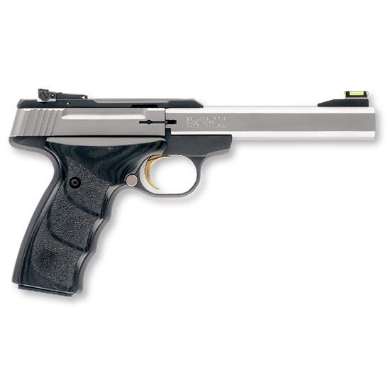 Browning 051427490 Buck Mark Plus *CA Compliant* 22 Long Rifle (LR) Single 5.5 10+1 Black Ultragrip DX Grip Black Aluminum Alloy Frame Stainless Steel Slide in.