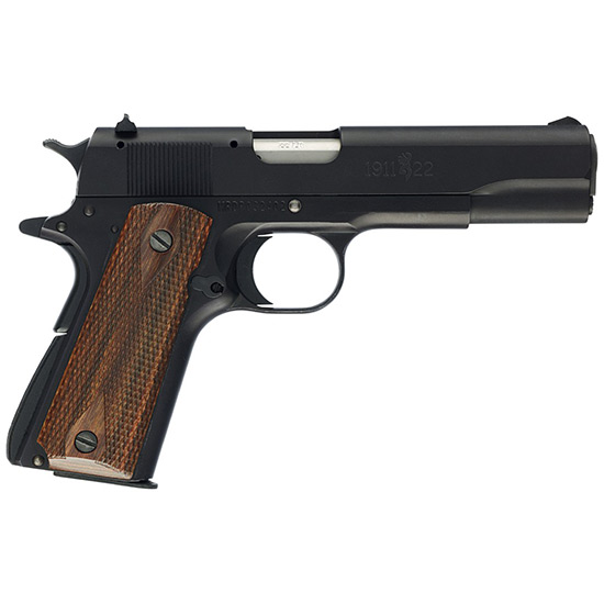 Browning 051802490 1911-22 A1 *CA Comp* 22LR 4.25 10+1 Brown Comp Grip Blued in.