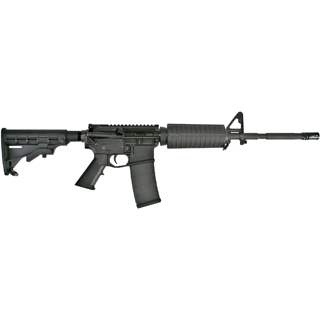Core 15 Rifle Systems 100284 M4 AR-15 Base SA 223|5.56 16 30+1 6 Pos Stk Blk in.