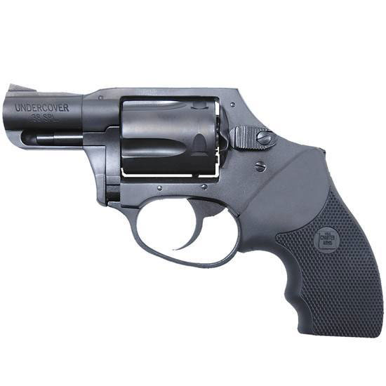 Charter Arms 13811 Undercover Standard Revolver Single Double 38 Special 2 5 Rd Black Rubber Grip Blued in.