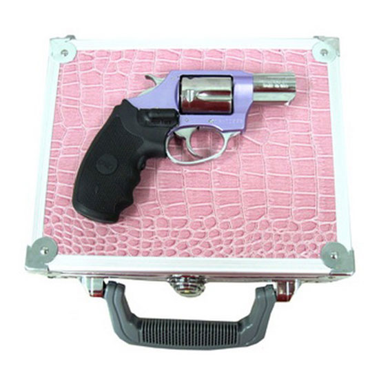 Charter Arms 53842 Undercover Lite Chic Lady Revolver Single Double 38 Special 2 5 Rd Black Synthetic Crimson Trace Lasergrip Grip Stainless in.