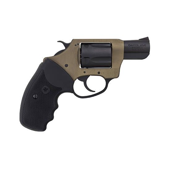 Charter Arms 53863 Undercover Lite  Revolver Single Double 38 Special 2 5 Rd Black Rubber Grip Black in.