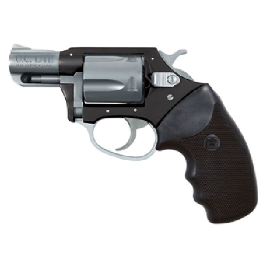 Charter Arms 53870 Undercover Lite Standard Revolver Single Double 38 Special 2 5 Rd Black Rubber Grip Stainless Black Frame in.
