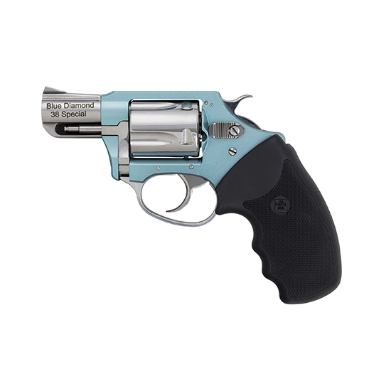 Charter Arms 53879 Undercover Lite  Revolver Single Double 38 Special 2 5 Rd Black Rubber Grip Stainless in.