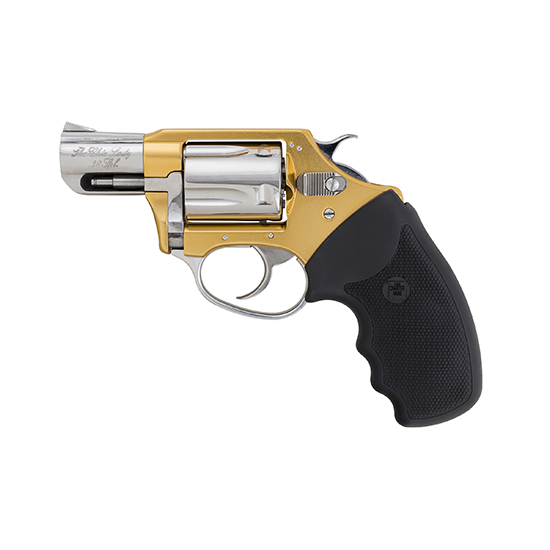 Charter Arms 53899 Undercover Lite Chic Lady Revolver Single Double 38 Special 2 5 Rd Black Rubber Grip Stainless in.