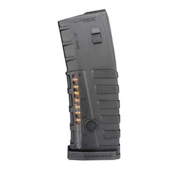 Command Arms MAG17 223 30rd Clear Window AR-15|M-16 Poly Black