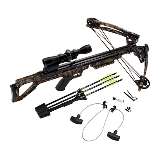 Carbon Express Covert 3.4 RTH Crossbow 4x32 Scope Package FLX Digital Camo 20255