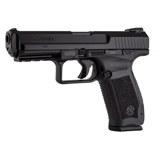 Century HG4071N TP9SF Special Forces 9mm Luger Double 4.46 10+1 Black Interchangeable Backstrap Grip Black Cerakote Slide in.
