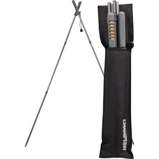 Champion Targets 40578 Folding Shooting Sticks W| Belt Pouch
