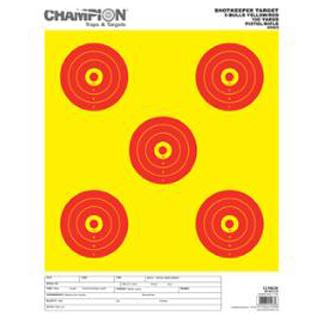 Champion Targets Shotkeep Target Y|R 5-BULL LG