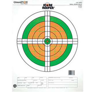 Champion Targets Score Keeper 100YD Small Bore FLR