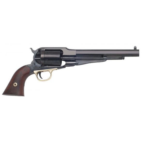 Cimarron CA1000 1858 New Model Army Cartridge Conversion Revolver 45 Long Colt 8 6 Rd Walnut Grip Blue Octagon Barrel in.
