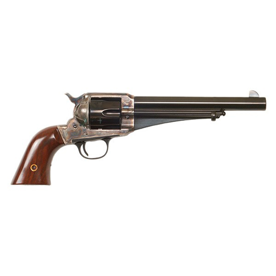 Cimarron CA151 1875 Outlaw Revolver 45 Colt (LC) 7.5 Walnut Grip Blued in.