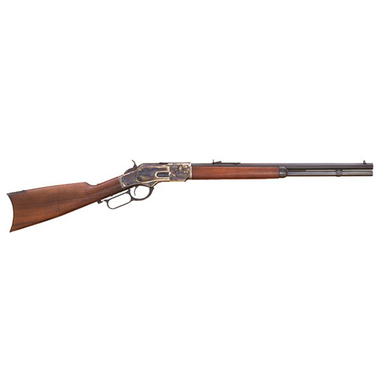 Cimarron CA281 1873 Short Rifle 1873 Winchester Lever 45 Colt (LC) 20 10+1 Walnut Stk in.