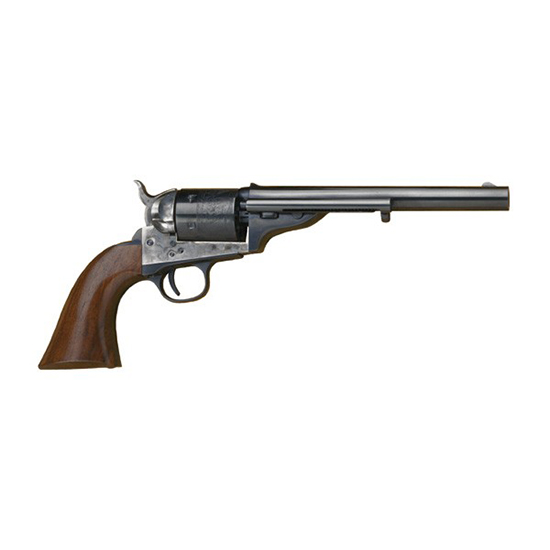 Cimarron CA916 1872 Open Top Army 45 Colt 7.5 6 Rd Walnut Grip Blued in.