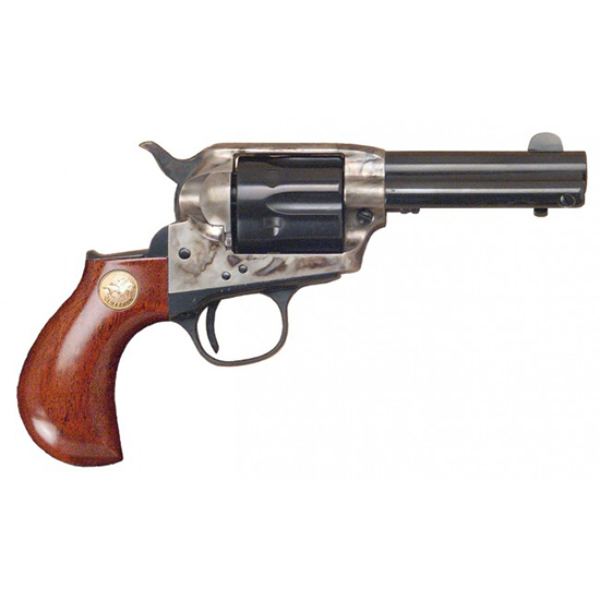 Cimarron CA980 Lightning Lightning Revolver 38 Special 3.5 Walnut Grip Blued in.