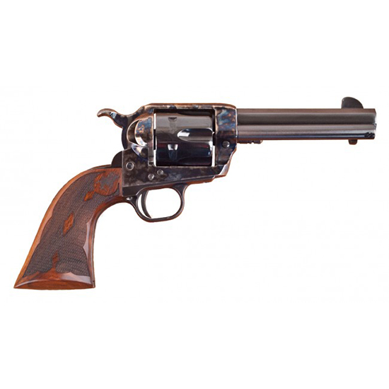 Cimarron Elimator C 357 Magnum / 38 Special Revolver 4.75 in.  Barrel Case Hardened Frame Standard Blued Finish Pistol