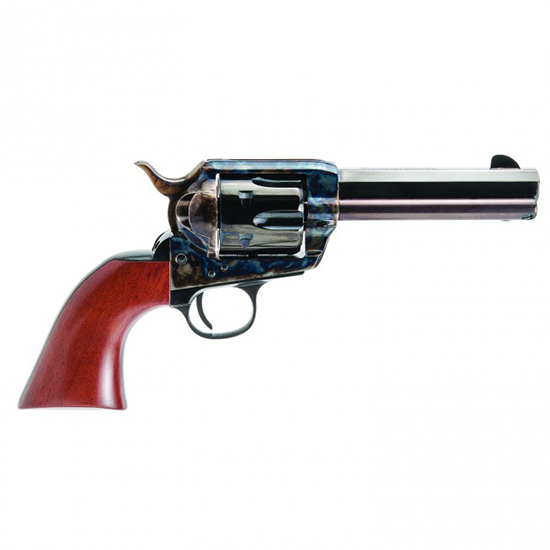 Cimarron PP400MALO El Malo Pre-War 1896-1940 Revolver 357|38 Special 4.75 Walnut Grip Blued in.