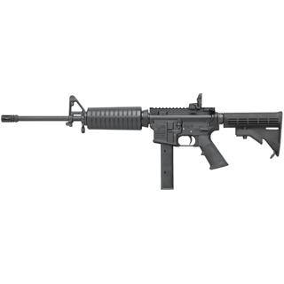 Colt AR6951 AR-15 Carbine 9mm 16.1 32+1 MT Semi-Auto Blk Rogers 4-Pos Stock in.