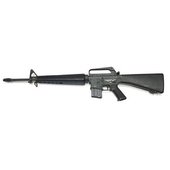 Colt Mfg CRM16A1 AR-15 Military Classic M16A1 Retro Reissue Semi-Automatic 5.56 NATO 20 20+1 A2 Black Stk Black in.