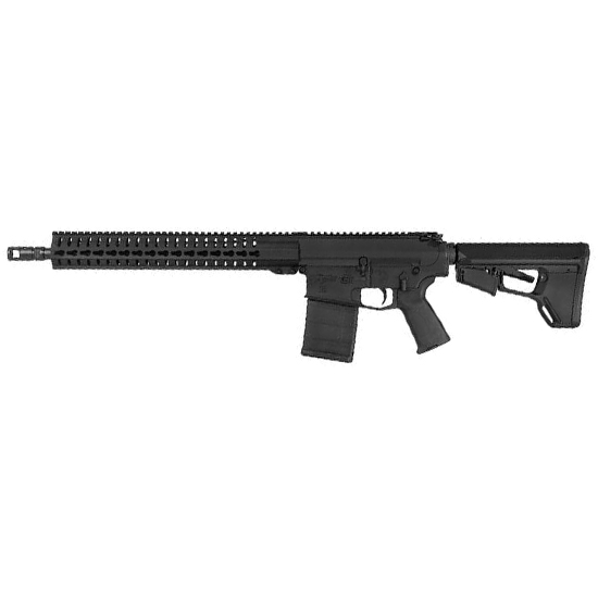 CMMG 38AEAF1 Mk3 CBR Semi-Automatic 308 Winchester|7.62 NATO 16 20+1 Magpul ACS Black Stk Black Nitride in.