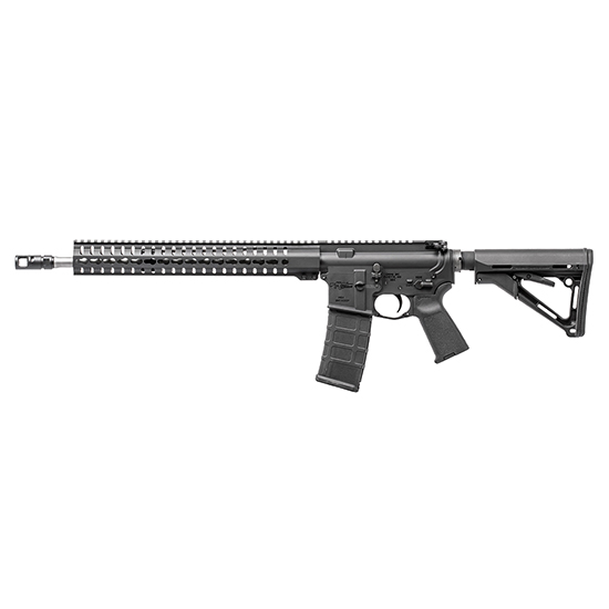 CMMG 55A591A Mk4 RCE Semi-Automatic 223 Remington|5.56 NATO 16.1 30+1 6-Position Black Stk Stainless Steel in.