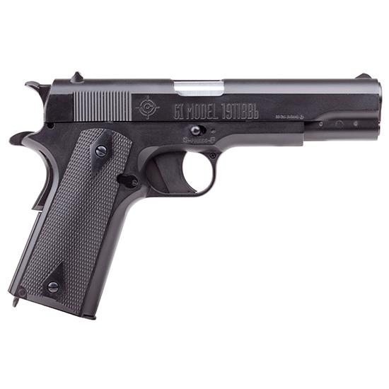 Crosman 40021 GI Model Air Pistol Semi-Auto 20rd .177 BB Black