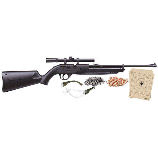 Crosman 760BKT Pumpmaster Air Pistol Kit Pump .177 Pellet|BB Black