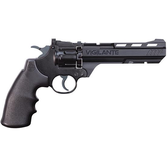 Crosman CCP8B2 Vigilante Air Pistol Revolver|Repeater .177 & BBs Blk