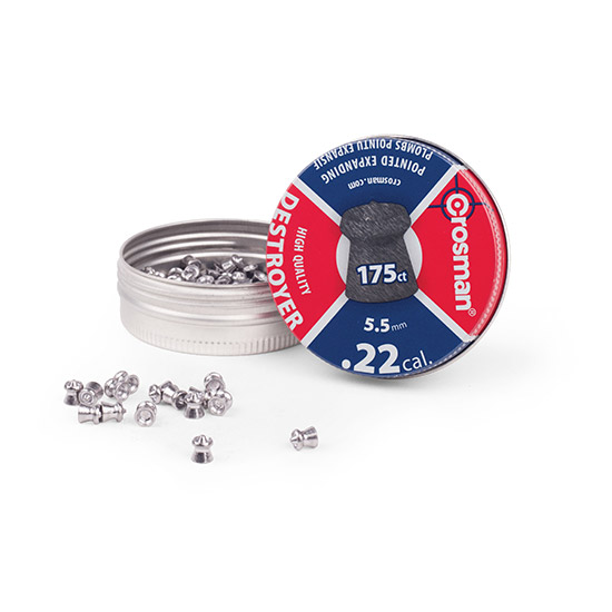 Crosman 22CAL Destroyer Pellet 175