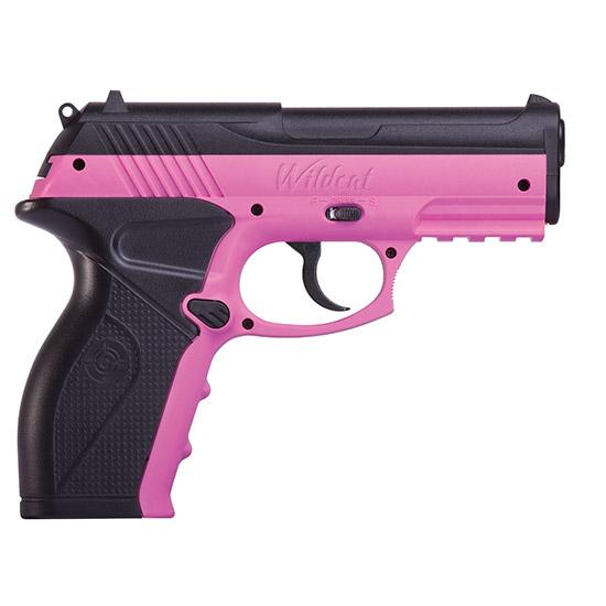Crosman P10PNK Wildcat Air Pistol Semi-Automatic .177 20rd  Pink|Black