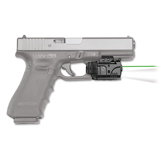 Crimson Trace CMR204 Rail Master Pro Universal Green Laser Sight and Tactical Light w|Picatinny Rail