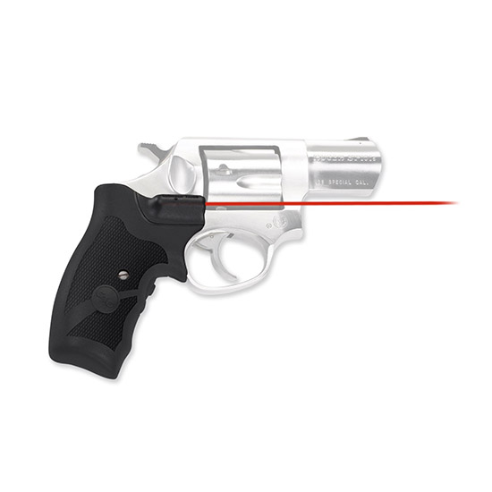 Crimson Trace LG303 Lasergrips Ruger SP101 Red 633nm .50@50ft Blk in.